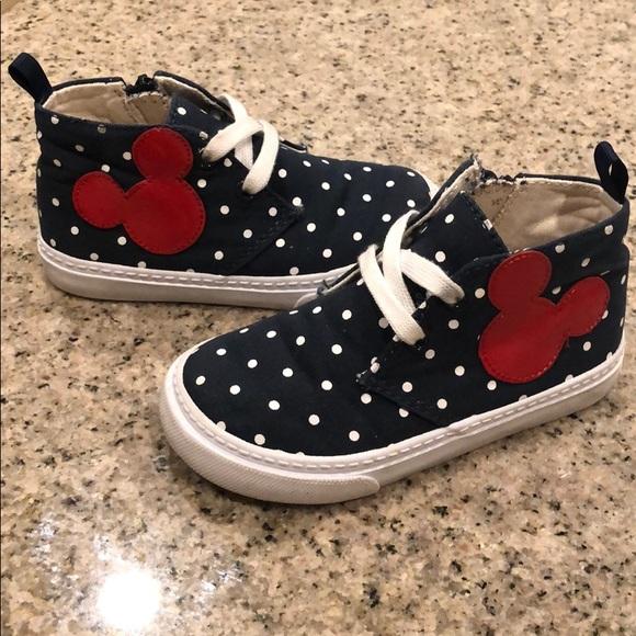 GAP Other - Baby Gap Disney Demin Hightop Sneakers
